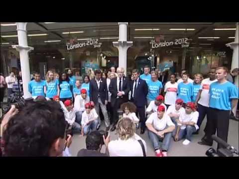 Launching London 2012 Games Maker volunteering