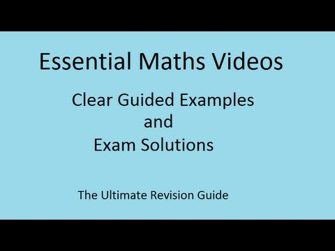 Stratified Sampling - GCSE Mathematics revision Video