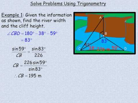 Solve Problems Using Trigonometry.mp4