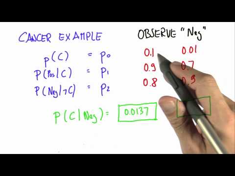 Program Bayes Rule 2 - Intro to Statistics - Programming Bayes Rule - Udacity