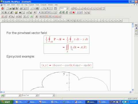 area-using-greens-theorem