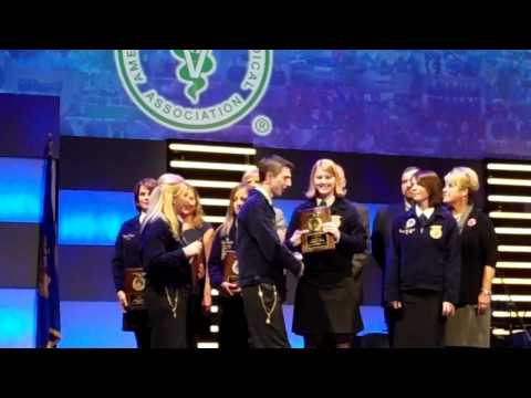 2010 FFA Veterinary Medicine Proficiency Award