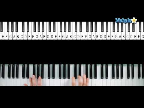 "How to Play ""With or Without You"" by U2 on Piano"