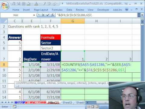 Mr Excel & excelisfun Trick 20: Summarize Survey Pivot Table