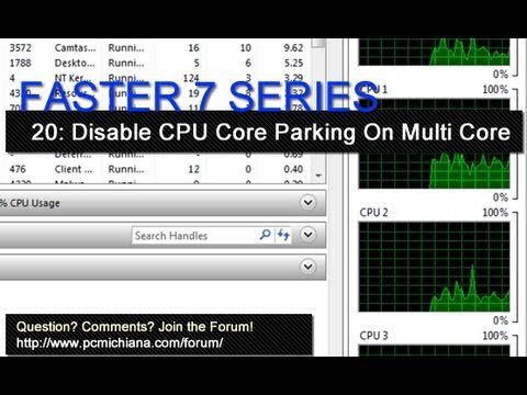 How To Disable CPU Core Parking For Multi-Core Processors - Ep. 20