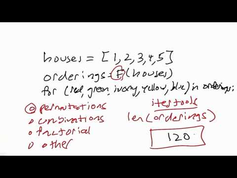 Length Of Orderings Solution - CS212 Unit 2 - Udacity