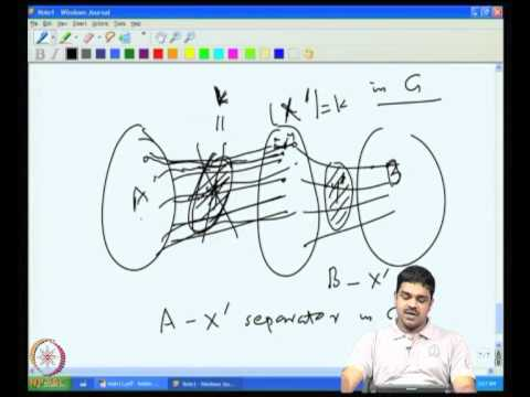 Mod-02 Lec-11 More on connectivity: k- linkedness