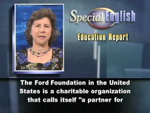 Getting a Fellowship, From the Ford Foundation