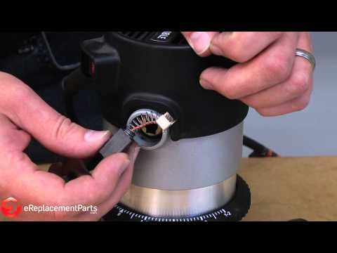 How to Replace the Brushes on a Porter Cable 690 Series Router--A Quick Fix