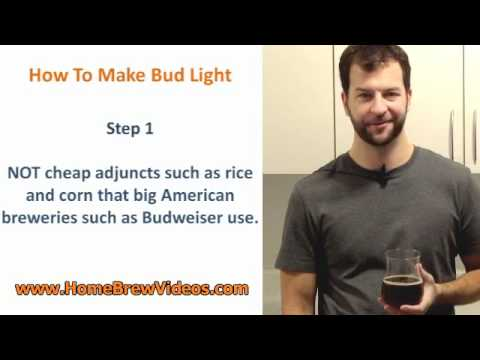Shhh! Top Secret Recipe For Bud Light Finally Revealed!