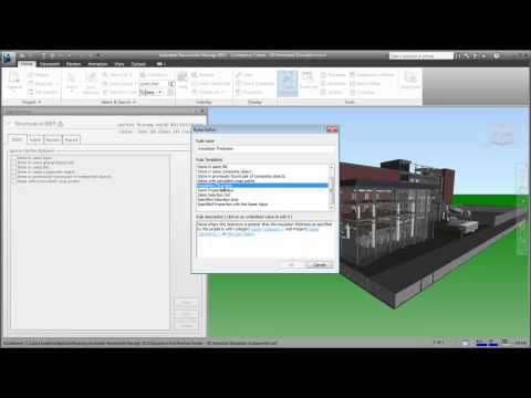 Autodesk Navisworks — Working with Clash Rules