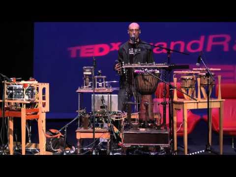 "TEDxGrandRapids- Musical Performance- Patrick Flanagan -""wowow"""