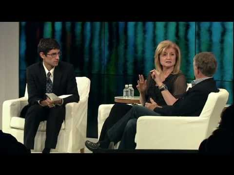 The News - Ted Koppel & Arianna Huffington at Zeitgeist Americas 2011