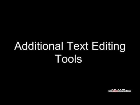 AutoCAD Tutorial - Editing Dimensions