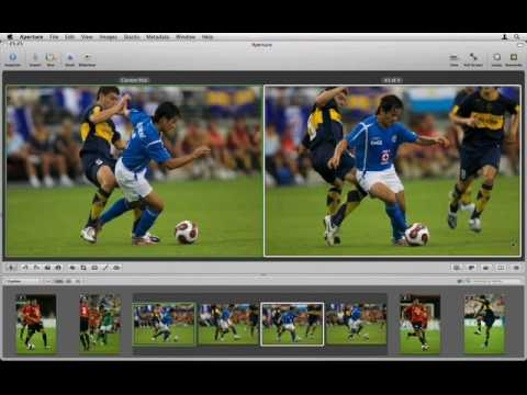 Aperture 2 Tutorials : 2.2.9 - Introduction - Compare and Select - Using Stack Mode