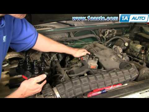 How To Install Replace Ignition Coil Ford Explorer Mercury Mountaineer Mazda 4.0L 91-08 1AAuto.com