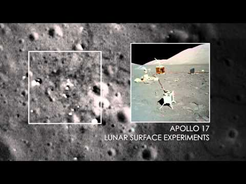 NASA | Sharper Views of Apollo 12, 14, and 17 Sites