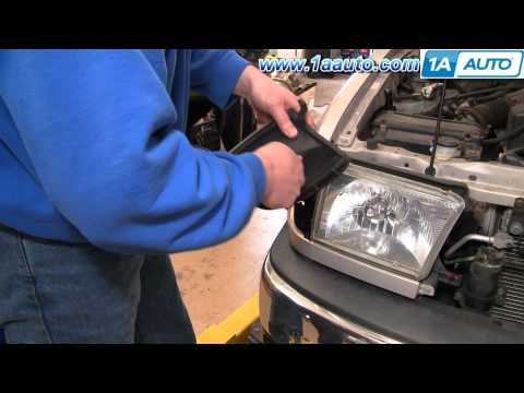 How To Install Replace Front Side Marker Light Toyota 4Runner 99-02 1AAuto.com
