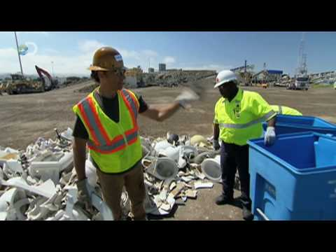 Dirty Jobs - Toilet Crusher  - Crushing Toilets