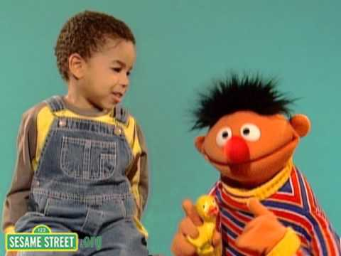Sesame Street: Zaj Sings A Song With Ernie