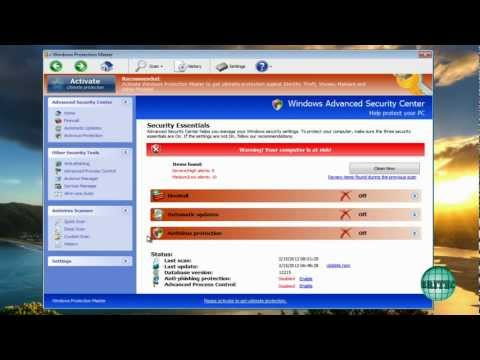 Remove Windows Protection Master by Britec
