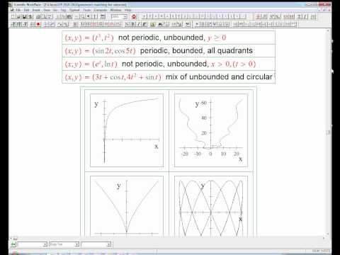 parametric curves: qualitative analysis and matching