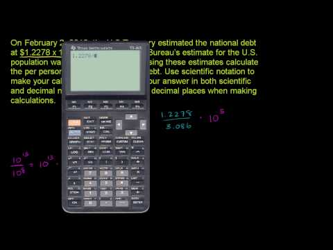 Scientific notation 3