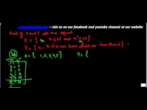 489.Class XI - CBSE, ICSE, NCERT -  Equal Sets - Problem 2
