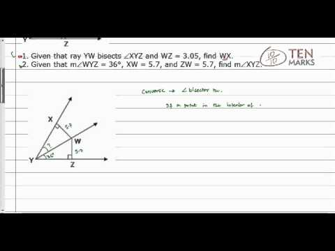 Angle Bisector Theorem and its Converse