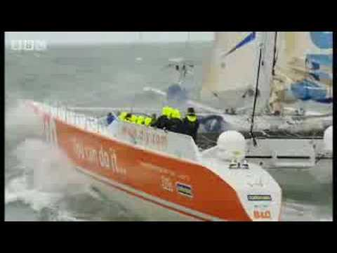 Ellen MacArthur in the eye of the storm - BBC