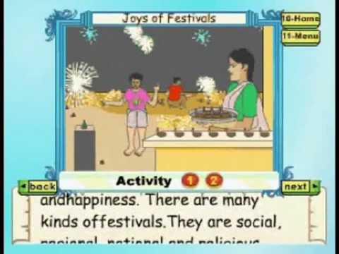 Learn - Joys Of Festivals Part 1 - Kids Animation Education Series