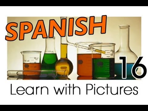 Learn Spanish - Spanish Study Subjects Vocabulary