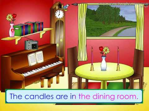 In the Dining Room (Clip) - Teach Autistic Children