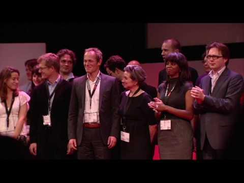 TEDxAmsterdam - Ploeg op Podium - 11/20/09