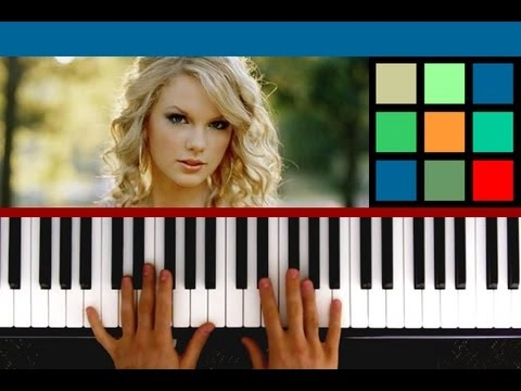 "How To Play ""We Are Never Ever Getting Back Together"" Piano Tutorial / Sheet Music (Taylor Swift)"
