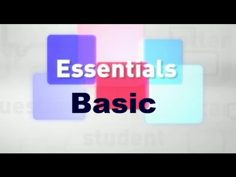 Essentials #08 (Basic)
