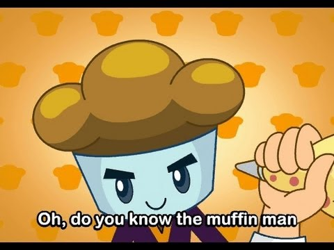 Muffin Songs - The Muffin Man   | nursery rhymes & children songs with lyrics | muffin songs