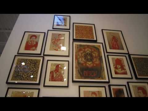 Shepard Fairey May Day at DEITCH PROJECTS .mov