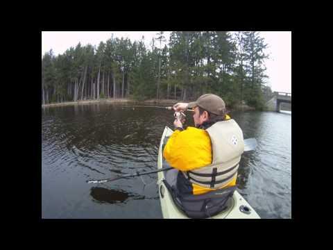 Pennsylvania Kayak Pickerel Fishing: Fishyaker.com Episode 36