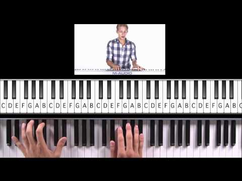 """How to Play """"Beauty and the Beast"""" from """"Beauty and the Beast"""" on Piano"""