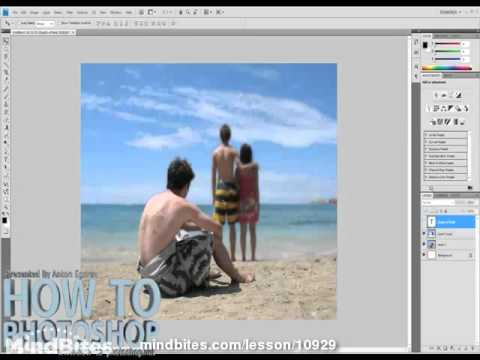31. Photoshop: Adding depth to photographs-P1