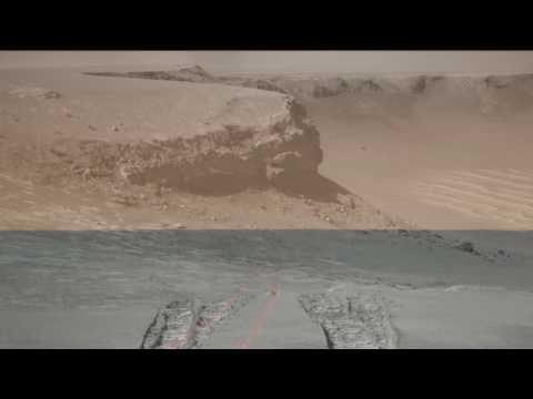 Opportunity:  Making Tracks on Mars