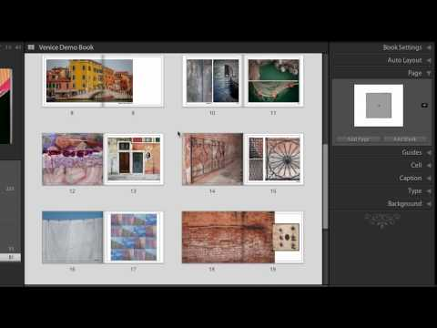 Modifying Book Layouts in Lightroom 4