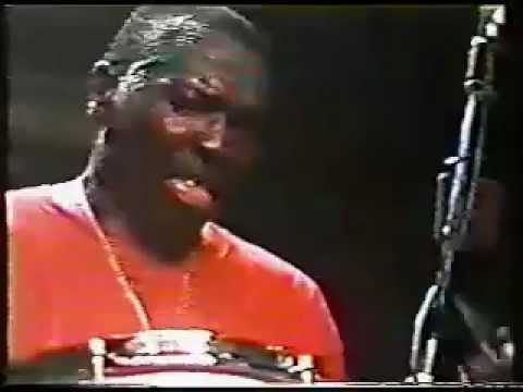 John Coltrane's Drummer Elvin Jones Live in Italy - 80s