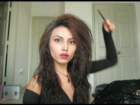 Bellatrix Lestrange Halloween Make-up Tutorial  !!!!
