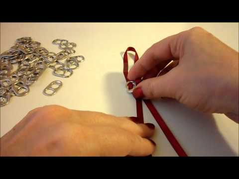 DIY How to Make a Pop Tab Bracelet