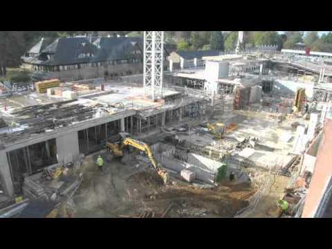 Construction progress, Nov 2011 - Gibbs