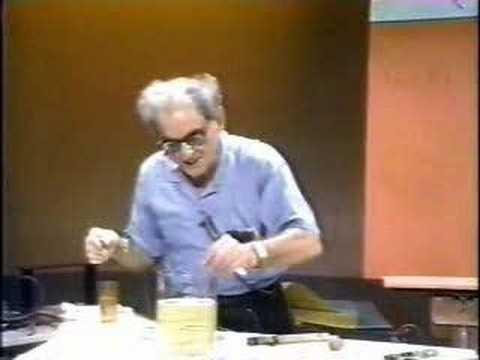 Julius Sumner Miller - Physics -  Soap Bubbles pt. 2