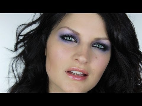 PARTY PURPLE MAKE-UP TUTORIAL