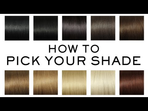 How to Pick Your Perfect Luxy Hair Extensions Shade